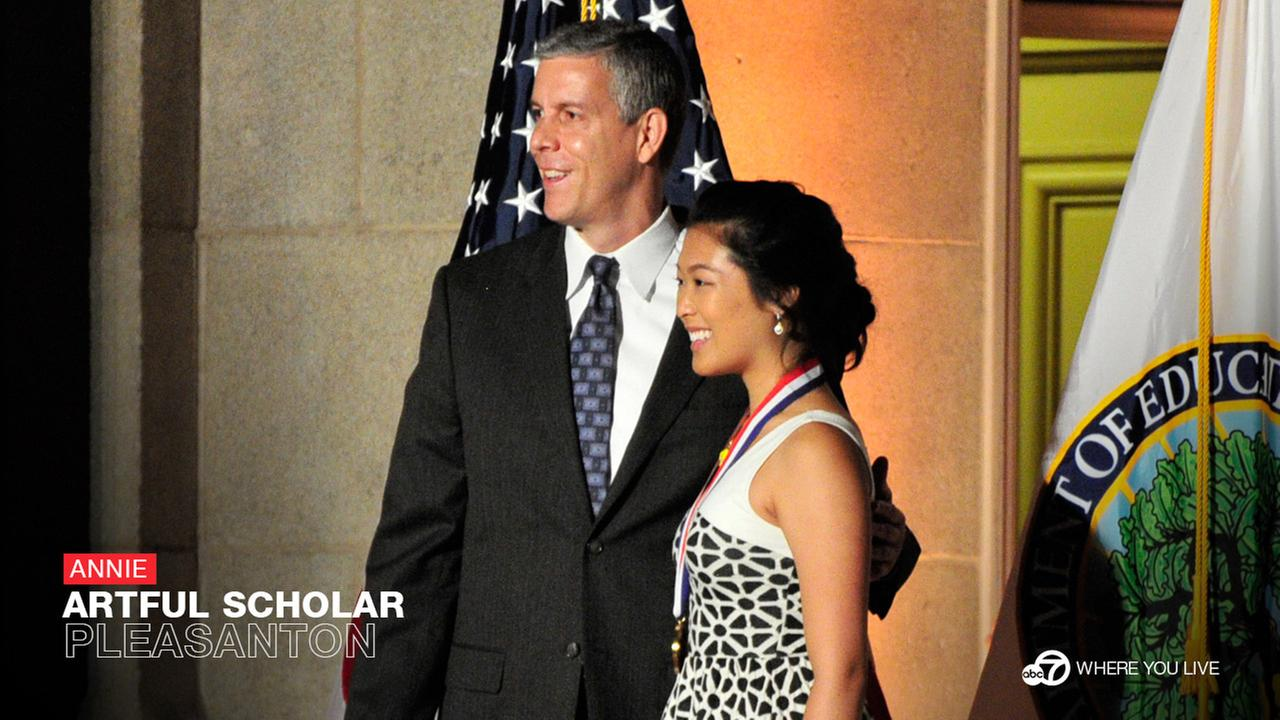THE ARTFUL SCHOLAR:  For Pleasantons Annie Wu, graduating with Foothill High School was just the beginning. She is also part of the 50th class of of U.S. Presidential scholars!