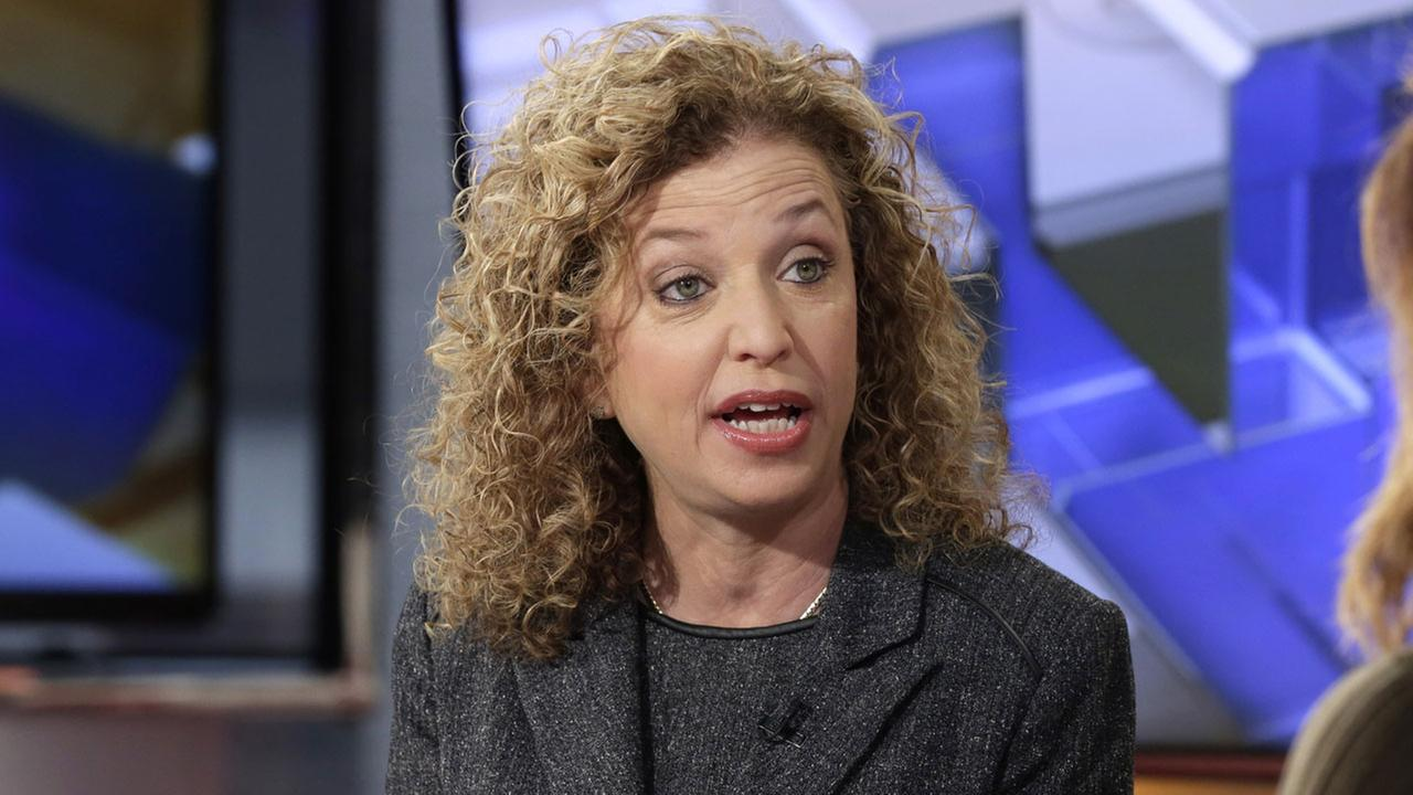 DNC chairwoman Debbie Wasserman Schultz is seen speaking in this undated image. (AP Photo/Richard Drew)