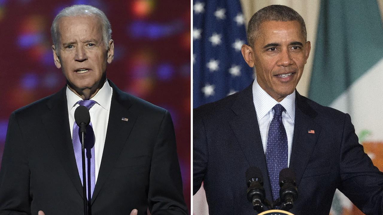 President Obama and VP Joe Biden will speak at the Democratic National Convention in Philadelphia on Wednesday, July 27, 2016.