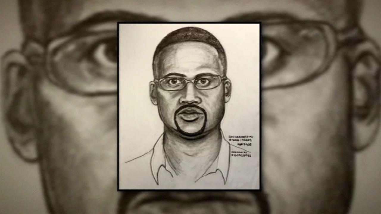 Police released a sketch of the suspect in an attempted kidnapping in San Leandro, Calif. on Thursday, July 28, 2016.
