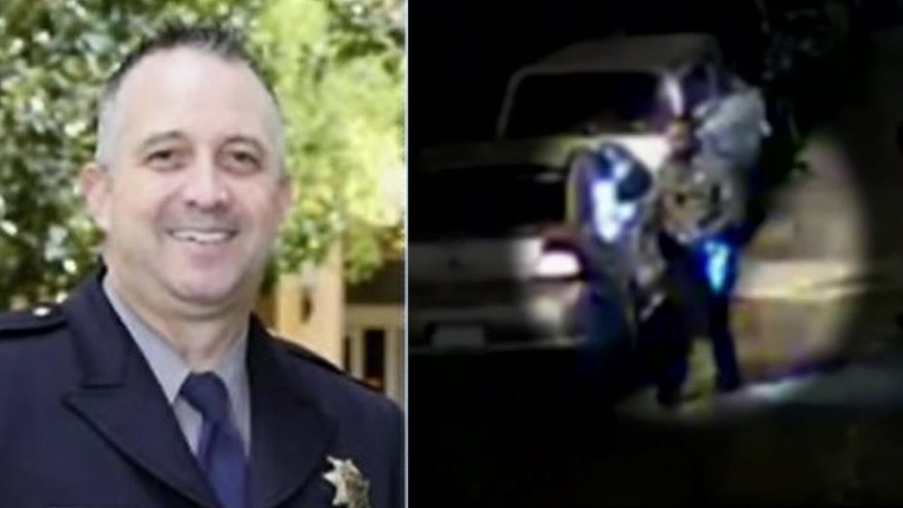 Alameda County Sheriffs Deputy Shawn Osborne, whos being investigated in connection with a bribery and beating case, worked his last day on Friday, July 29, 2016.