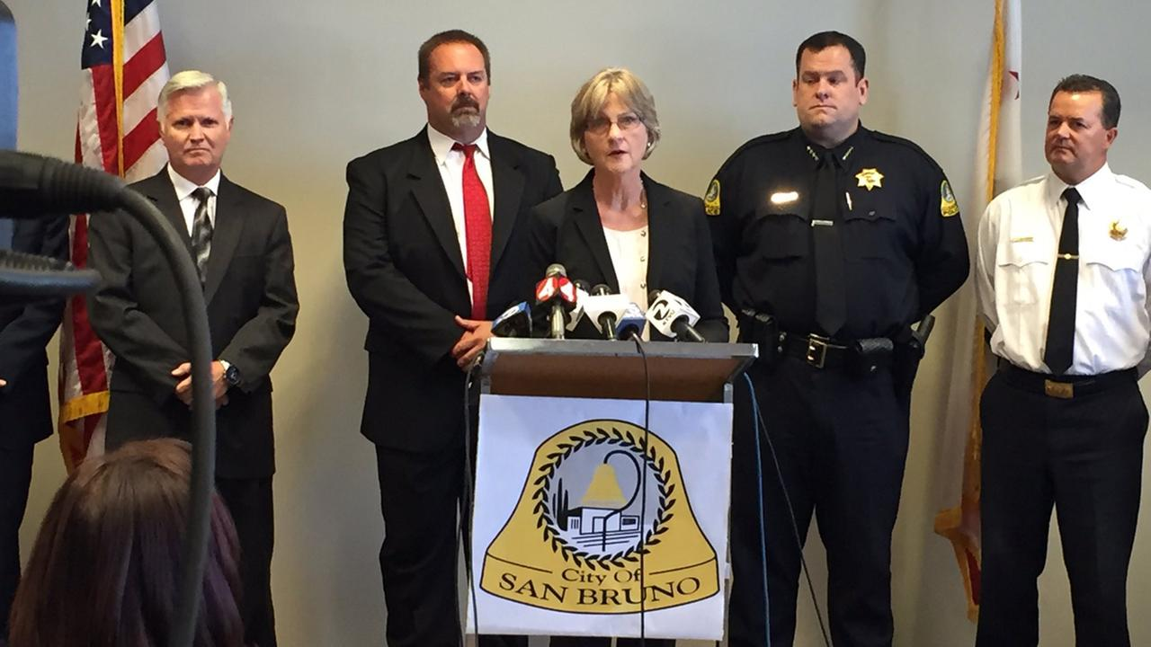 San Mateo County leaders discuss guilty verdict in PG&E San Bruno pipeline explosion, San Bruno, California, Wednesday, August 10, 2016.