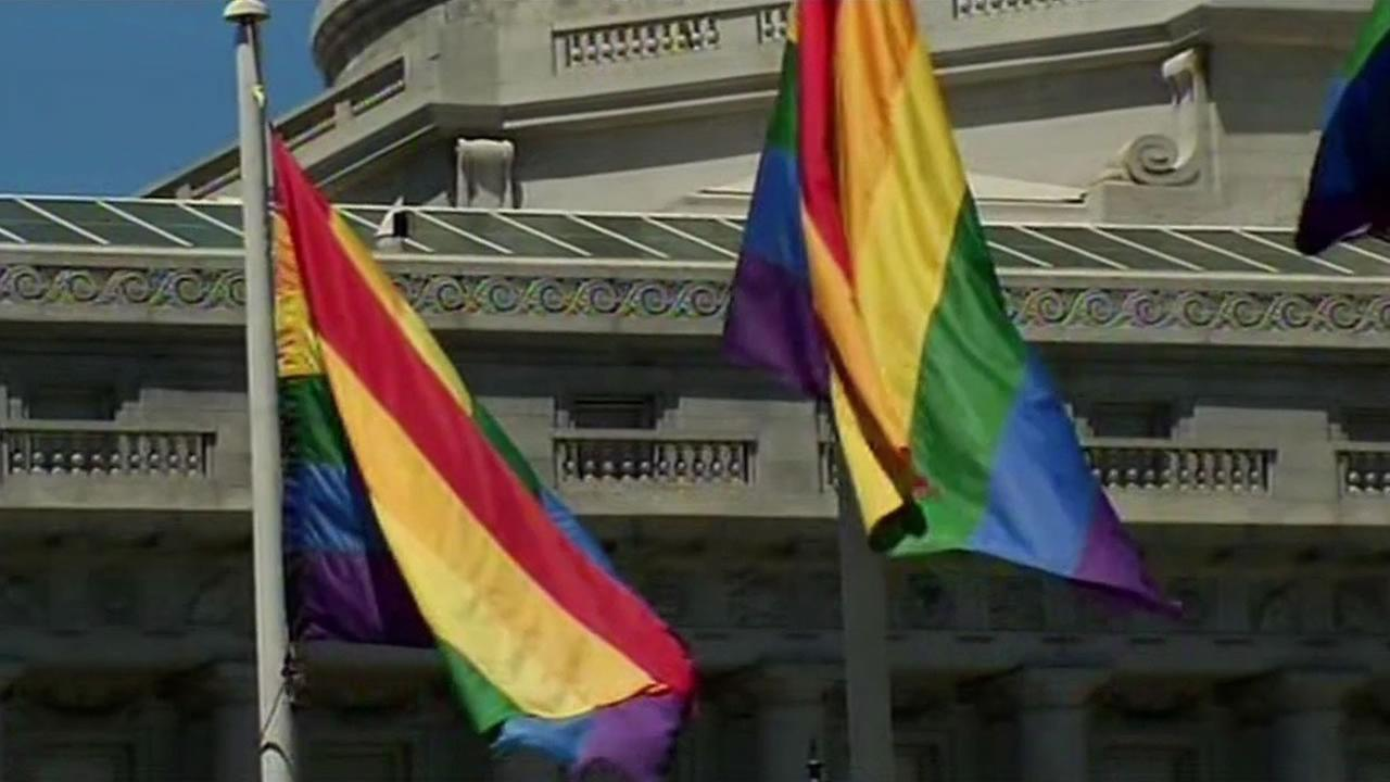 San Francisco is awash in the colors of the rainbow this weekend. Pride festivities are well underway.