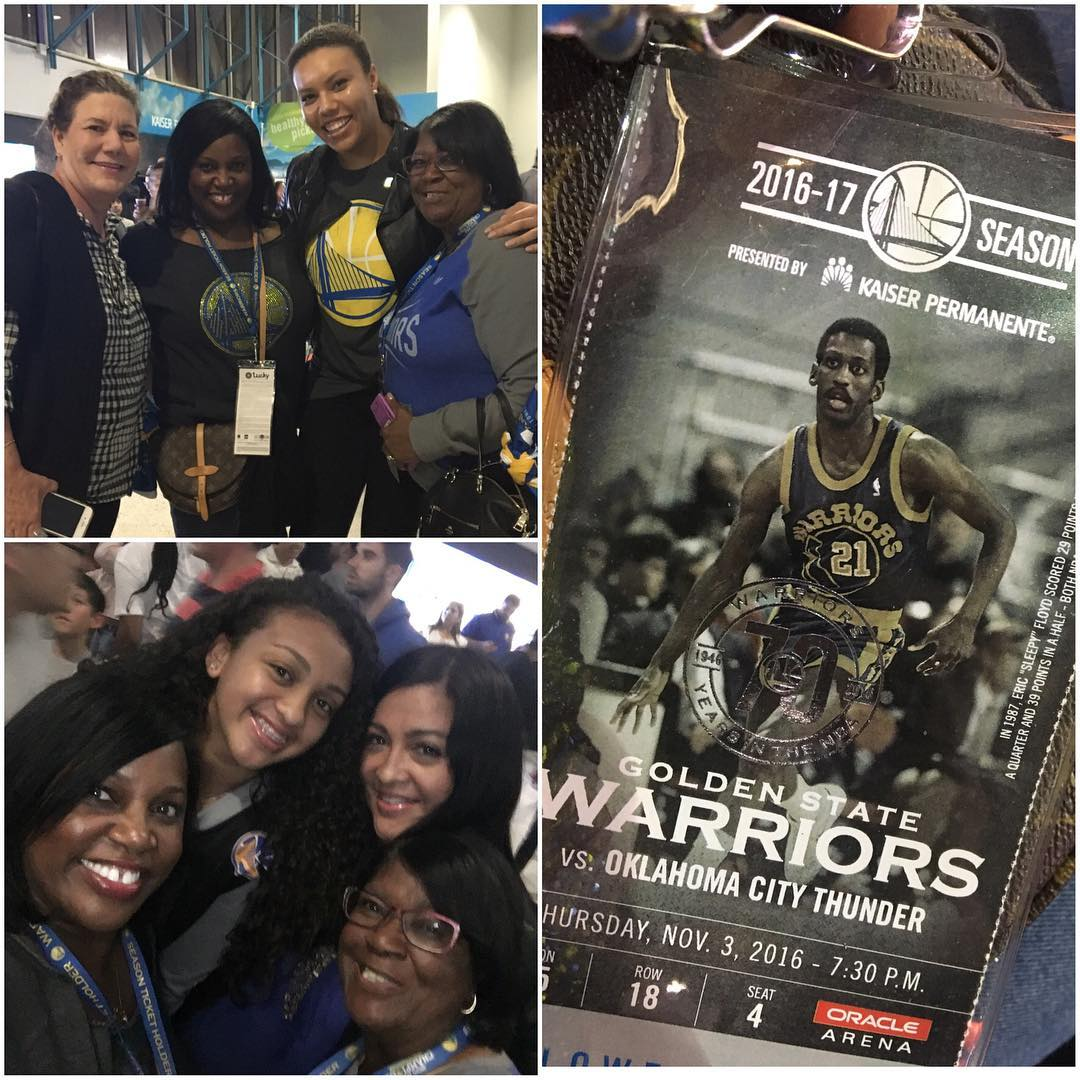 <div class='meta'><div class='origin-logo' data-origin='none'></div><span class='caption-text' data-credit='dancinness/Instagram'>Golden State Warriors fans sent in their pics using #DubsOn7 or #abc7now to cheer on the Dubs during their 2016-2017 season.</span></div>