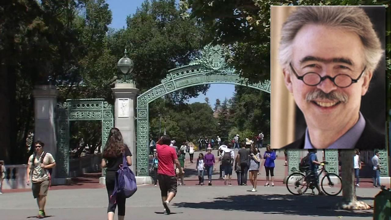 This image shows the University of California, Berkeley chancellor Nicholas Dirks who has announced on August 16, 2016 he plans to resign at the end of the upcoming school year.
