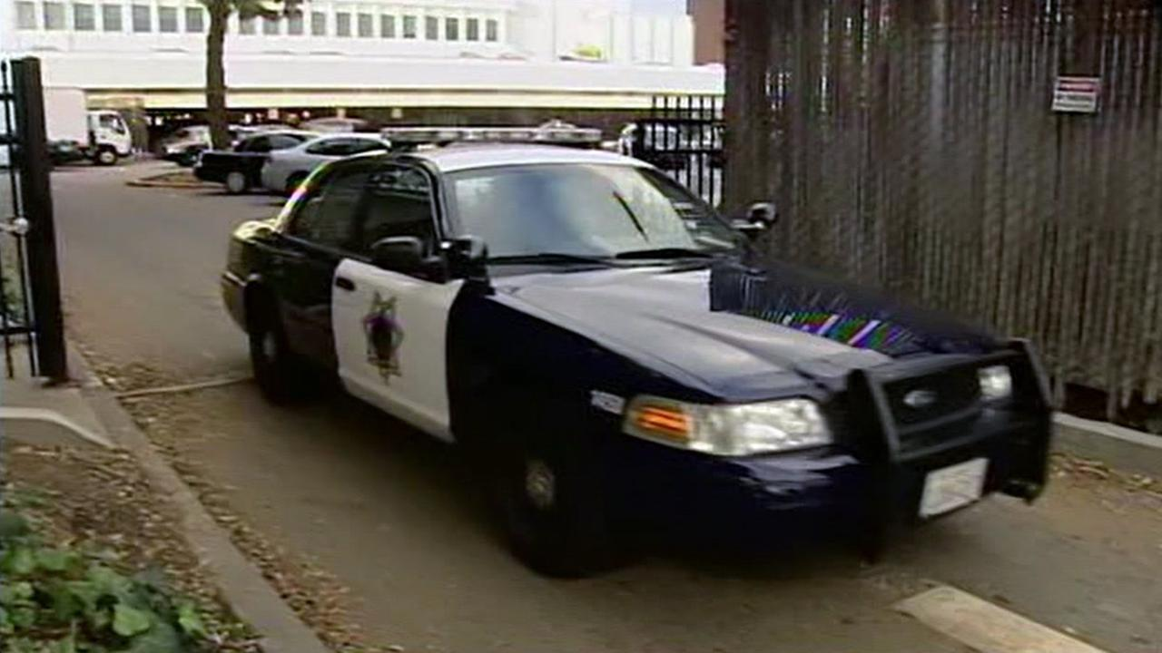 FILE -- San Jose police car