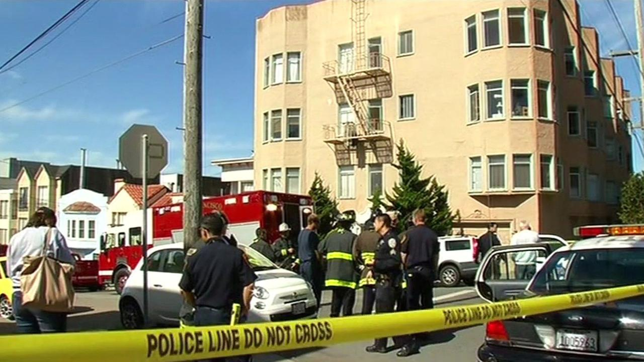 One person has died in possible hazmat situation in San Franciscos Richmond District.