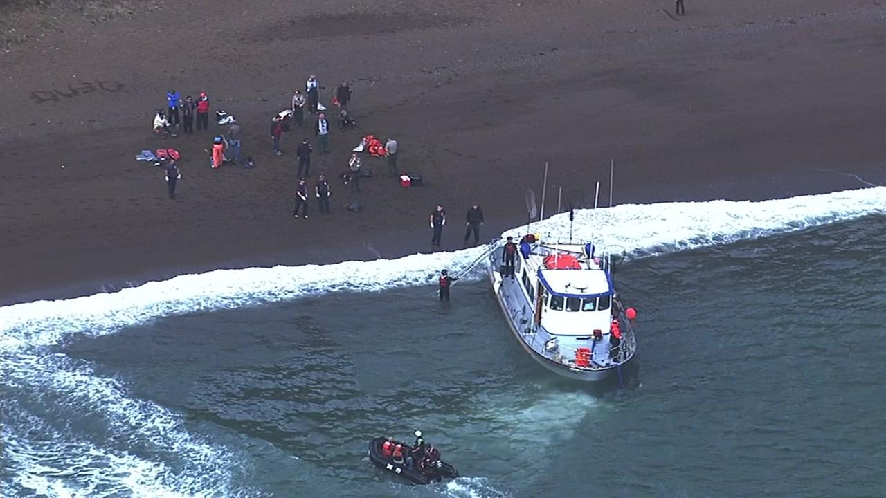 Coast Guard: 15 Rescued Near Golden Gate Bridge