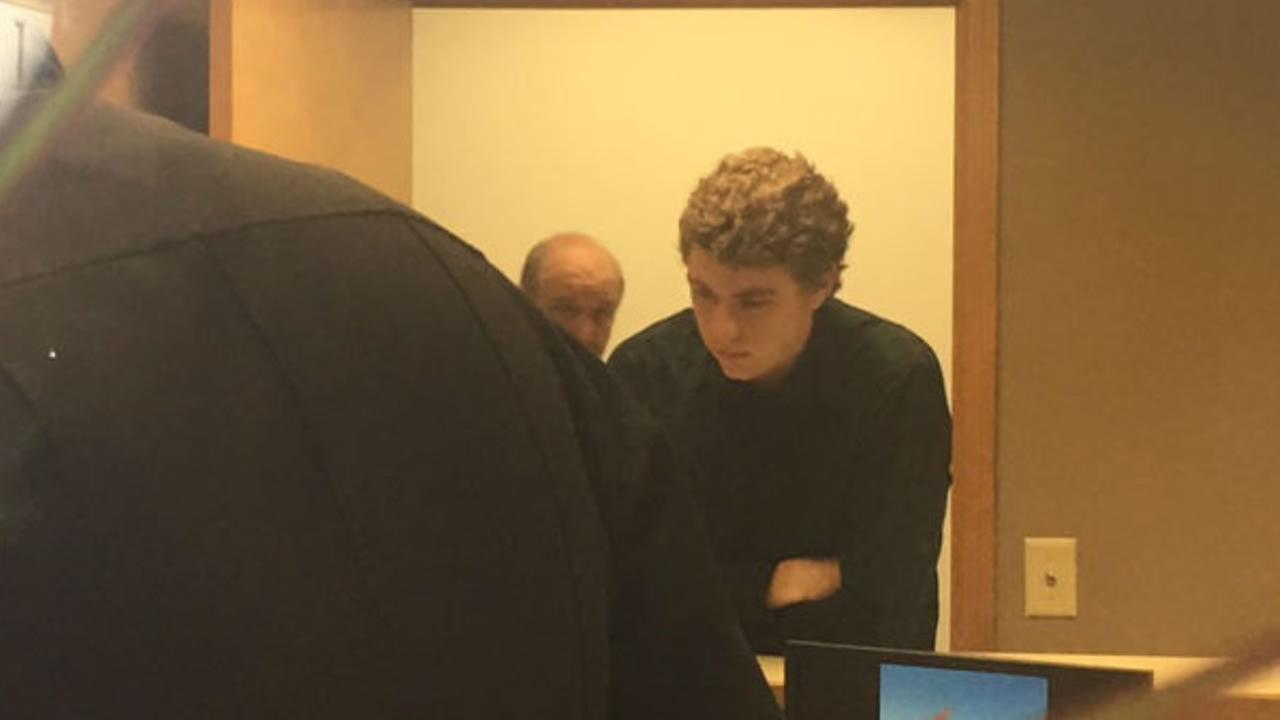 Brock Turner registers as a sex offender at a sheriffs office in Ohio on Tuesday, September 6, 2016.