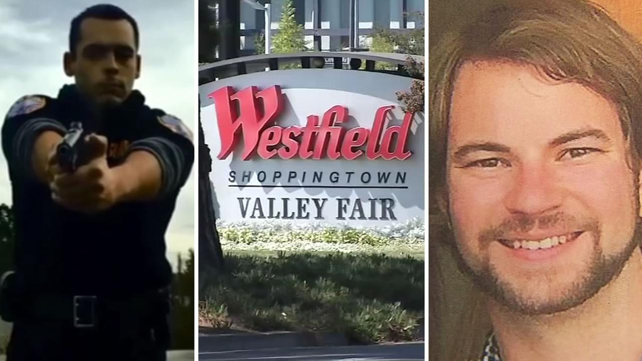 Apple engineer Nick Buchanan says a security guard at San Joses Westfield Valley Fair mall pulled a gun on him in December 2015.