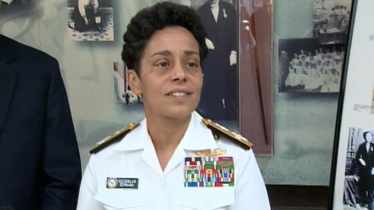 Michelle Janine Howard has become the Navys first female four-star admiral.