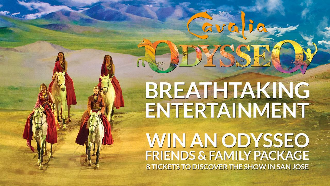 Enter now to win an odysseo by cavalia rendez vous vip for Enter now to win