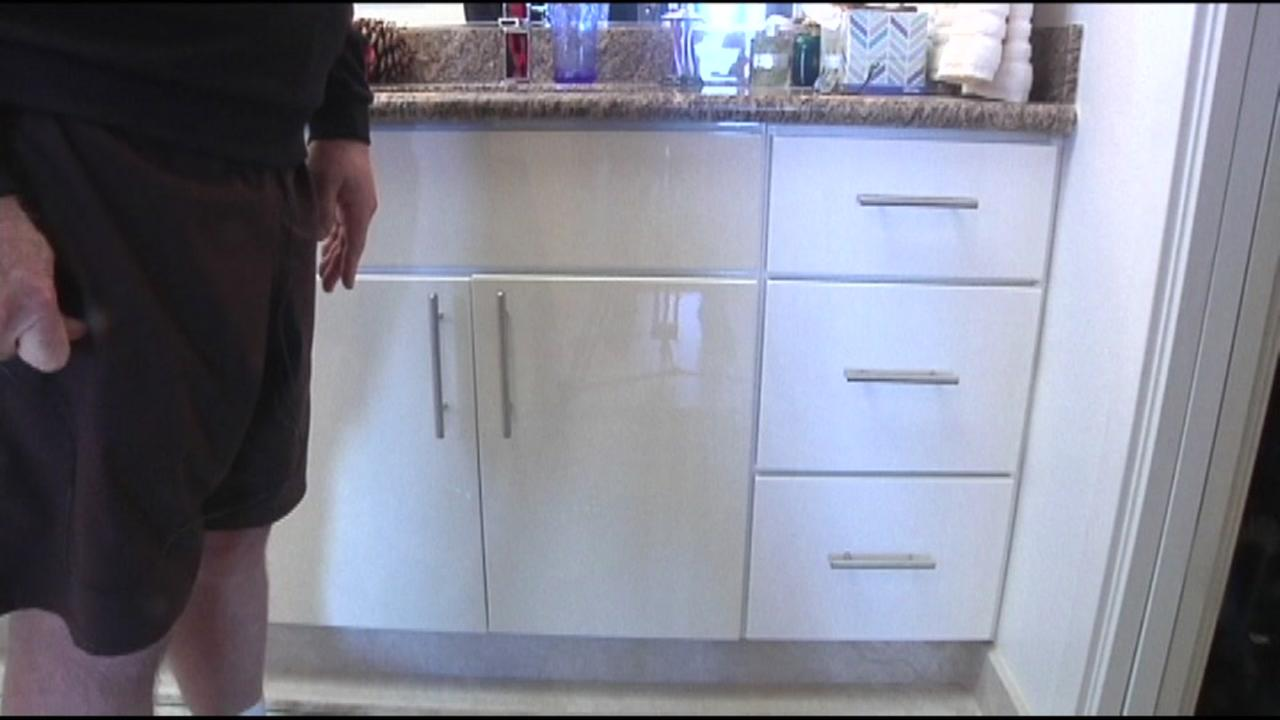 Man asks 7 On Your Side for help with Granite Expo Warranty on cabinets.