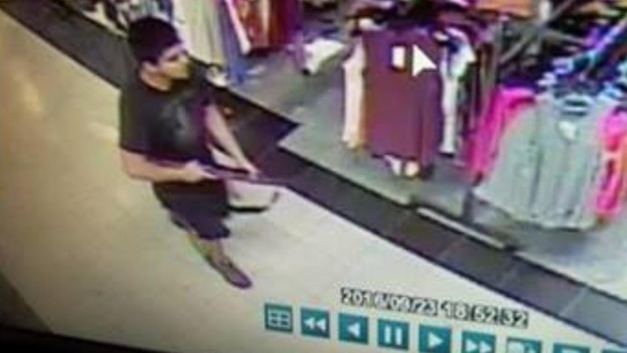 Authorities released a surveillance image of a suspect they said shot and killed multiple people at Cascade Mall in Burlington, Washington, on Friday, Sept. 23, 2016.