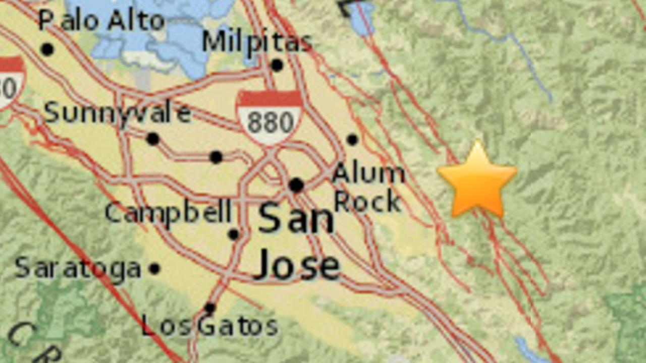 Earthquake in Alum Rock, California, Wednesday, September 28, 2016.