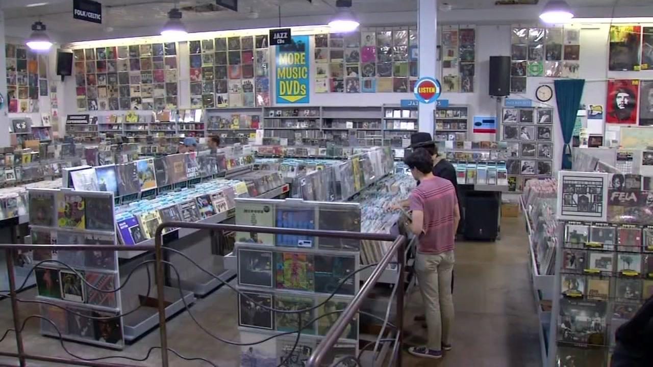 FILE -- Amoeba Music in Berkeley, California.