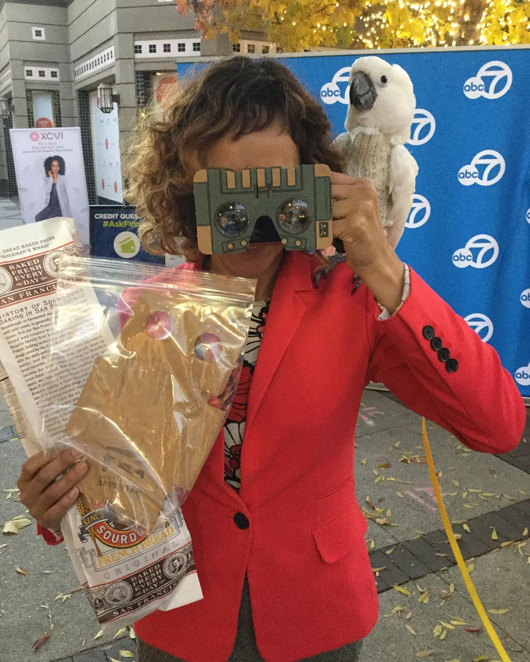 <div class='meta'><div class='origin-logo' data-origin='none'></div><span class='caption-text' data-credit='KGO-TV'>7 on Your Side's Michael Finney's Friday Free Stuff gave viewers a VR headset and coupons to Boudin's Bakery in San Francisco on Dec. 2, 2016.</span></div>