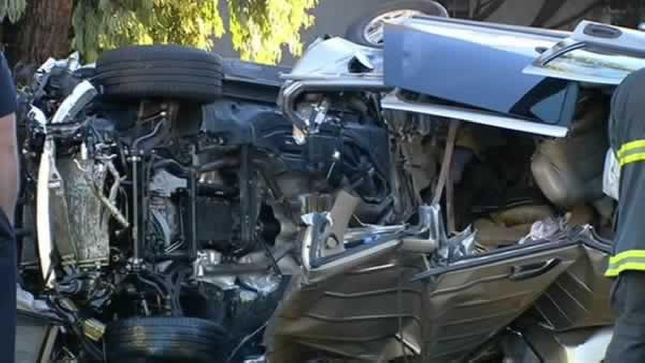 A speeding driver caused a deadly collision on a main thoroughfare in San Francisco.
