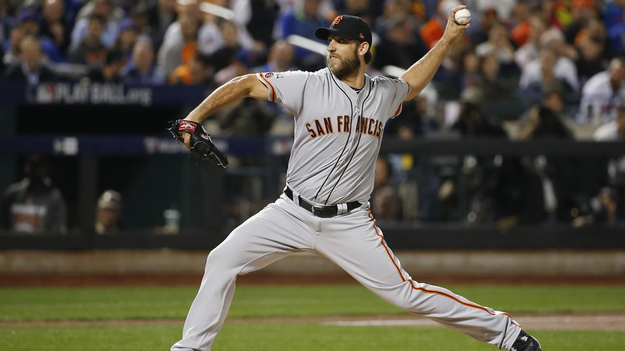 Bumgarner pitches a 4-hit Shutout to advance to the NLDS