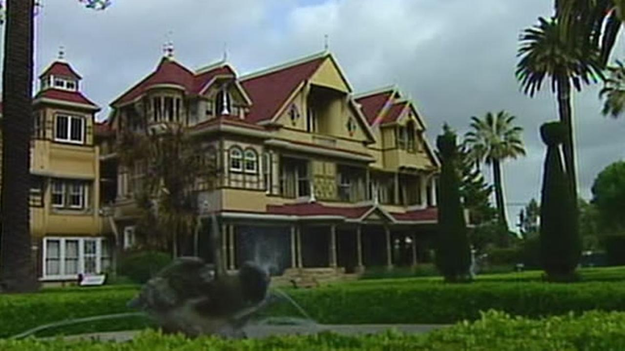 The Winchester Mystery House in San Jose, Calif. is a California state landmark.