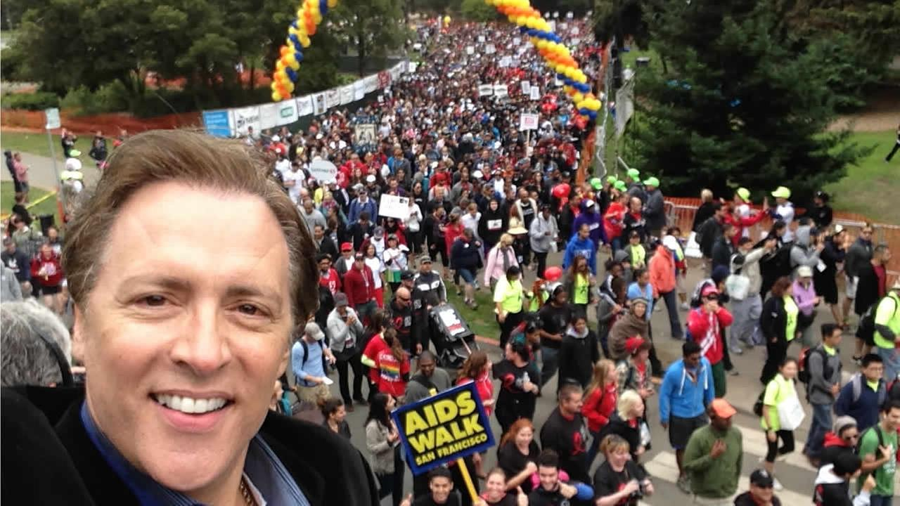 AIDS Walk San Francisco and ABC7