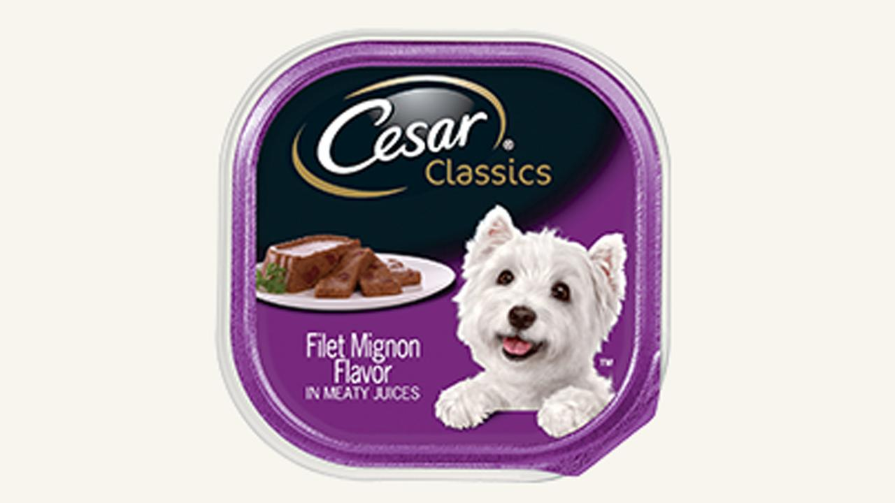 CESAR Classics Filet Mignon Flavor