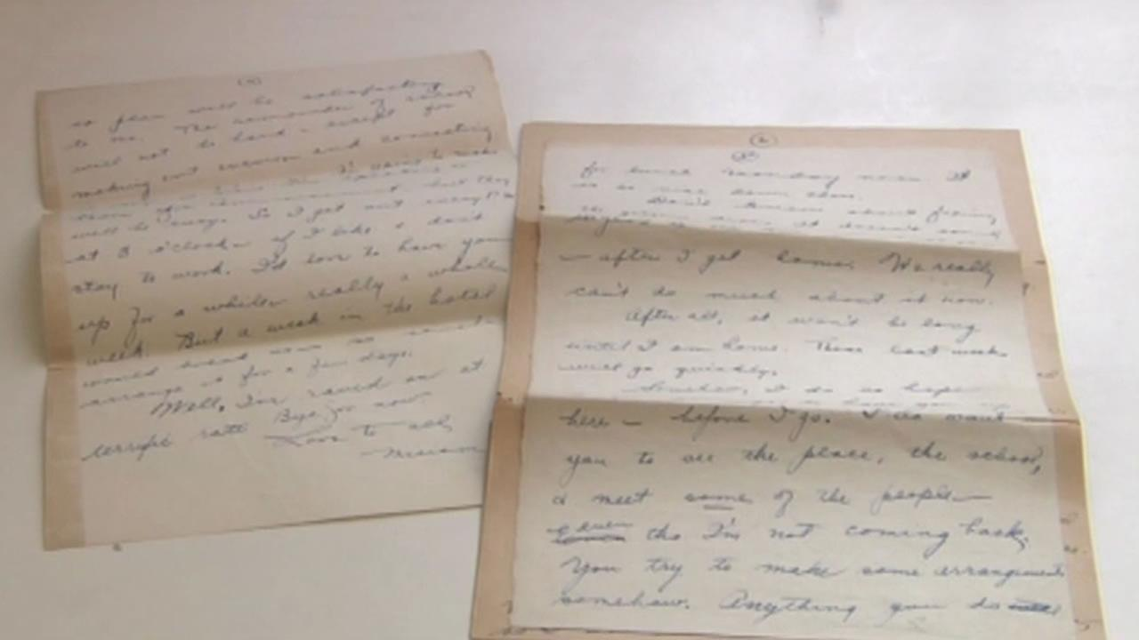A long-lost letter sent 83 years ago was finally delivered last week.