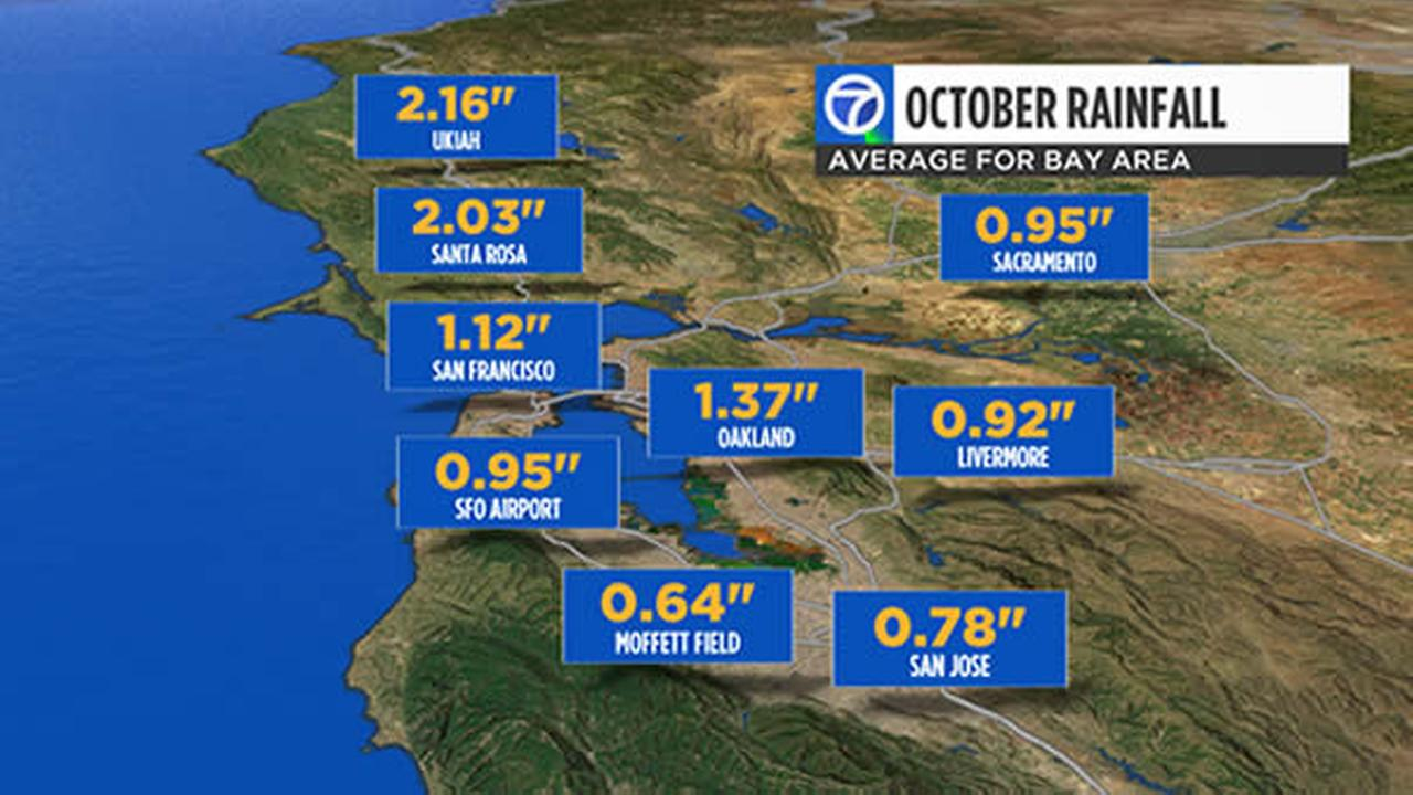 October soaking: A lot of rain expected for Bay Area