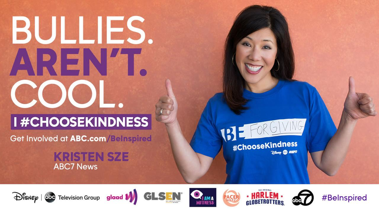 Kristen Sze chooses to be kind. #ChooseKindness with her and show your support for Bullying Month! #BeInspired