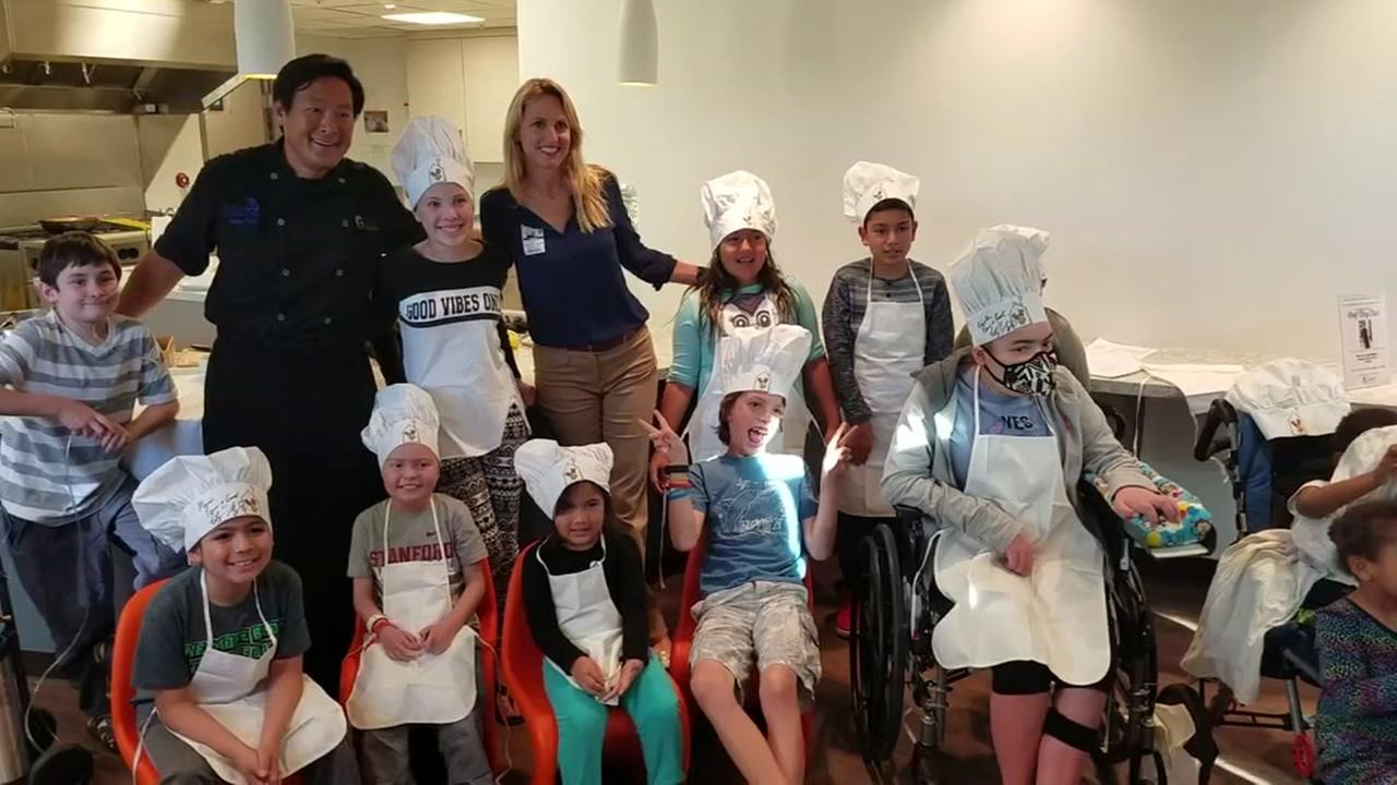 The Ronald McDonald House at Stanford hosted a special cooking demonstration with Chef Ming Tsai on Oct. 21, 2016 in Palo Alto, Calif.