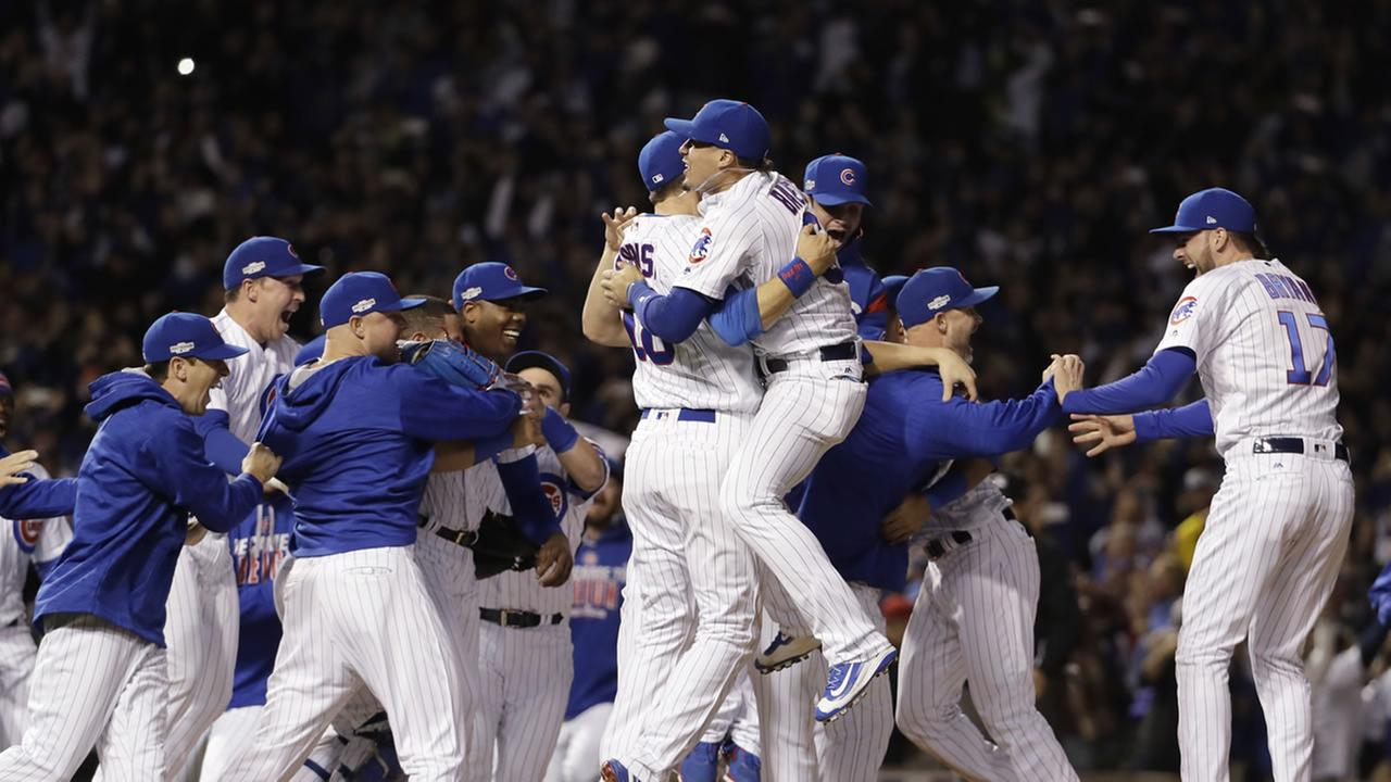 The Cubs won 5-0 to win the series and advance to the World Series against the Cleveland Indians.