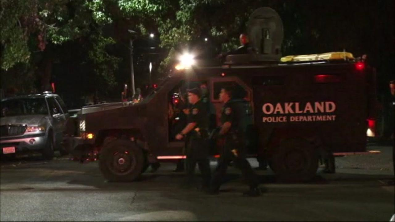 Oakland police are investigating a shooting incident that left several people injured on Saturday, October 23, 2016.