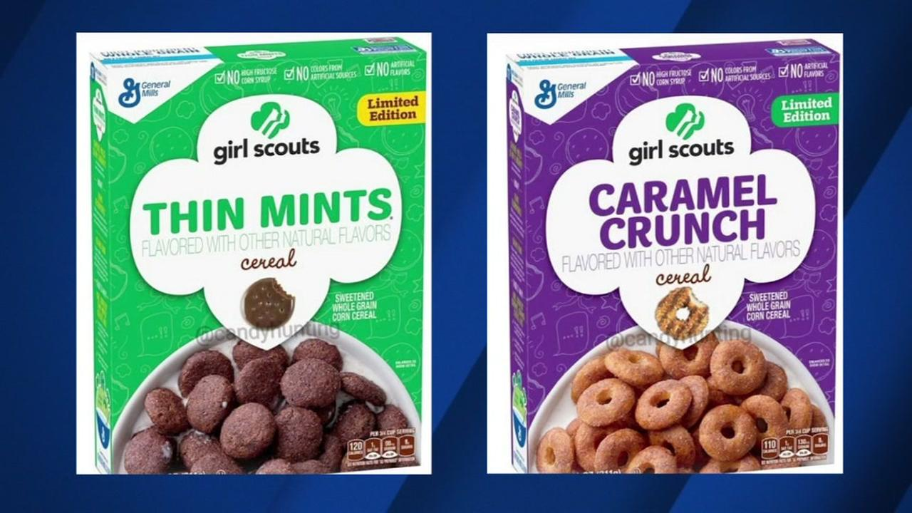General Mills is teaming up with the Girl Scouts for a new cookie-inspired cereal.