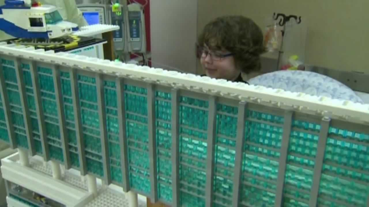 A boy with a rare form of mitochondrial disorder is using his skill with Legos to help raise money for others like him around the world.