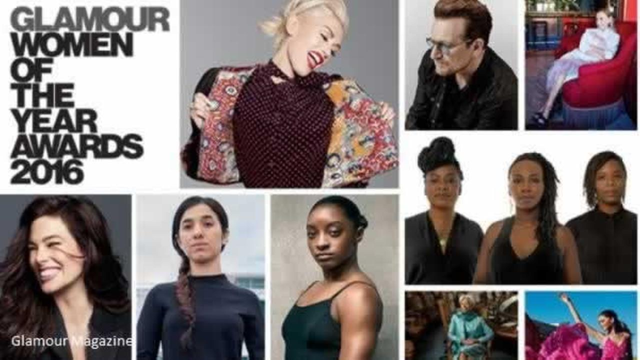 Glamour Magazine released its list of 2016 Women of the Year on Tuesday, November 1, 2016.