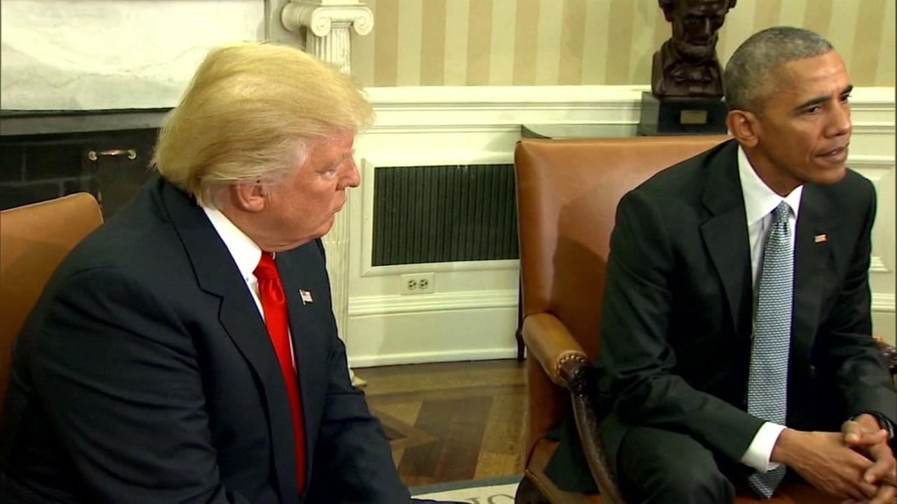 President-elect Donald Trump met with President Barack Obama at the White House on Nov, 10. 2016.