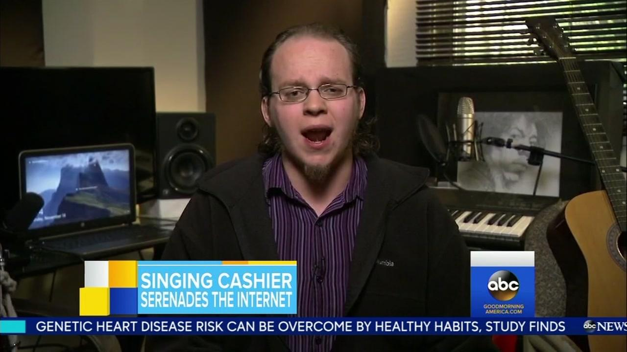 Lucas Holliday appeared on Good Morning America on Nov. 14, 2016.