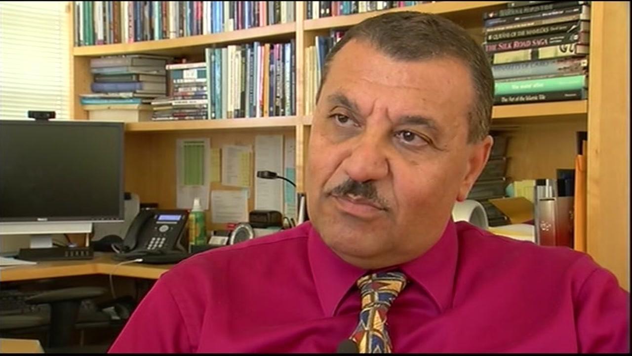 UC Berkeley professor Nezar AlSayyad