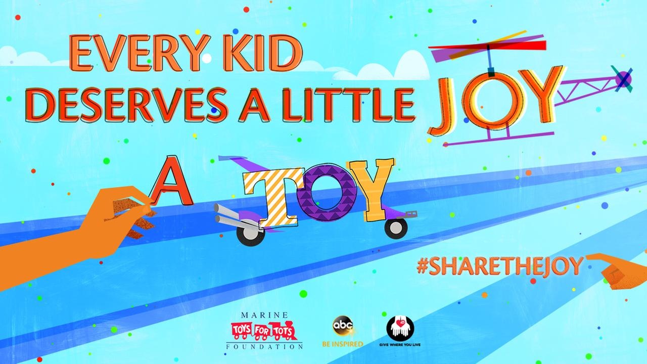 #ShareTheJoy and GIVE WHERE YOU LIVE