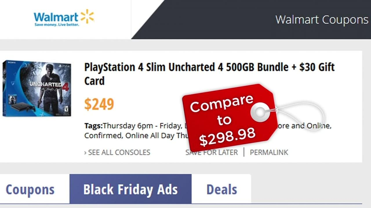 This is an undated image of a Black Friday deal on Walmart.com.