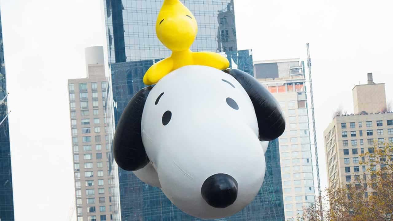 A Snoopy float is seen in the Macys Thanksgiving Day Parade on Thursday, Nov. 26, 2015, in New York.Photo by Scott Roth/Invision/AP