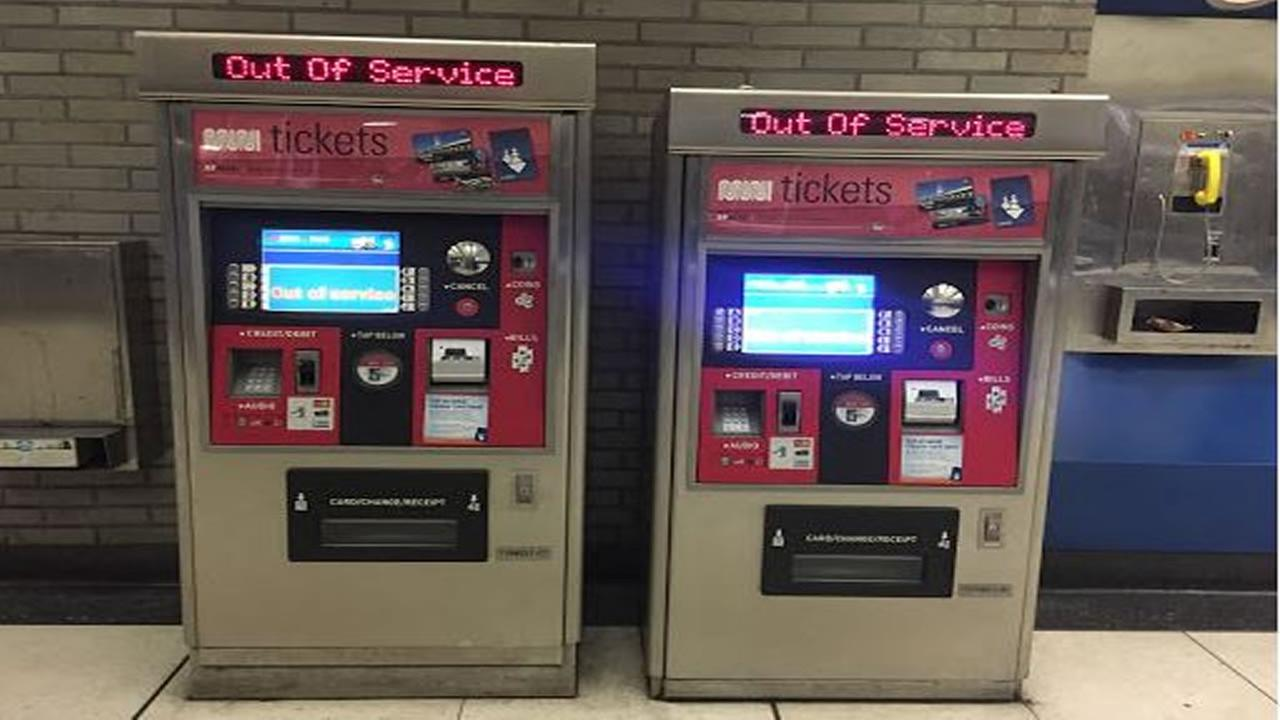 MUNI fare payment machines read, Out of service after an alleged hack created outages throughout the city.