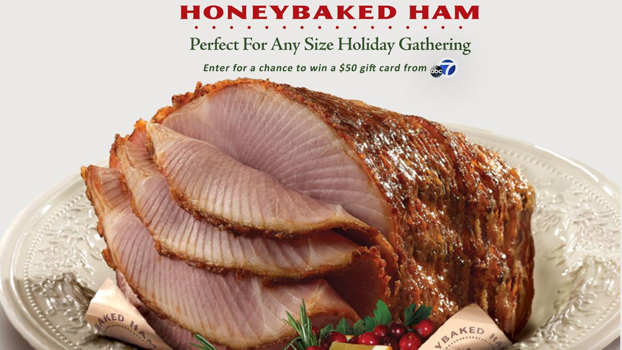 Tis the season to savor a perfect meal. Enter for your chance to win a $50 Honeybaked gift card.