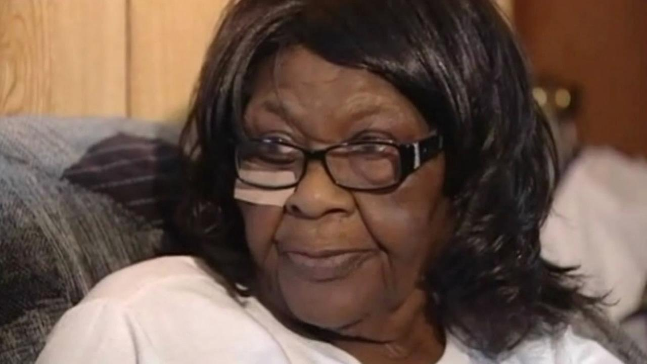 Lillie McClendon, 83, fought off a burglary who broke into her Houston home.