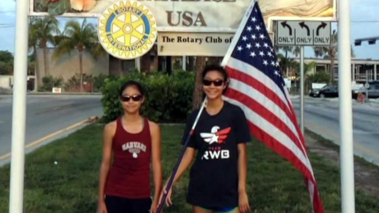 Teen completes 6-day run in salute to veterans