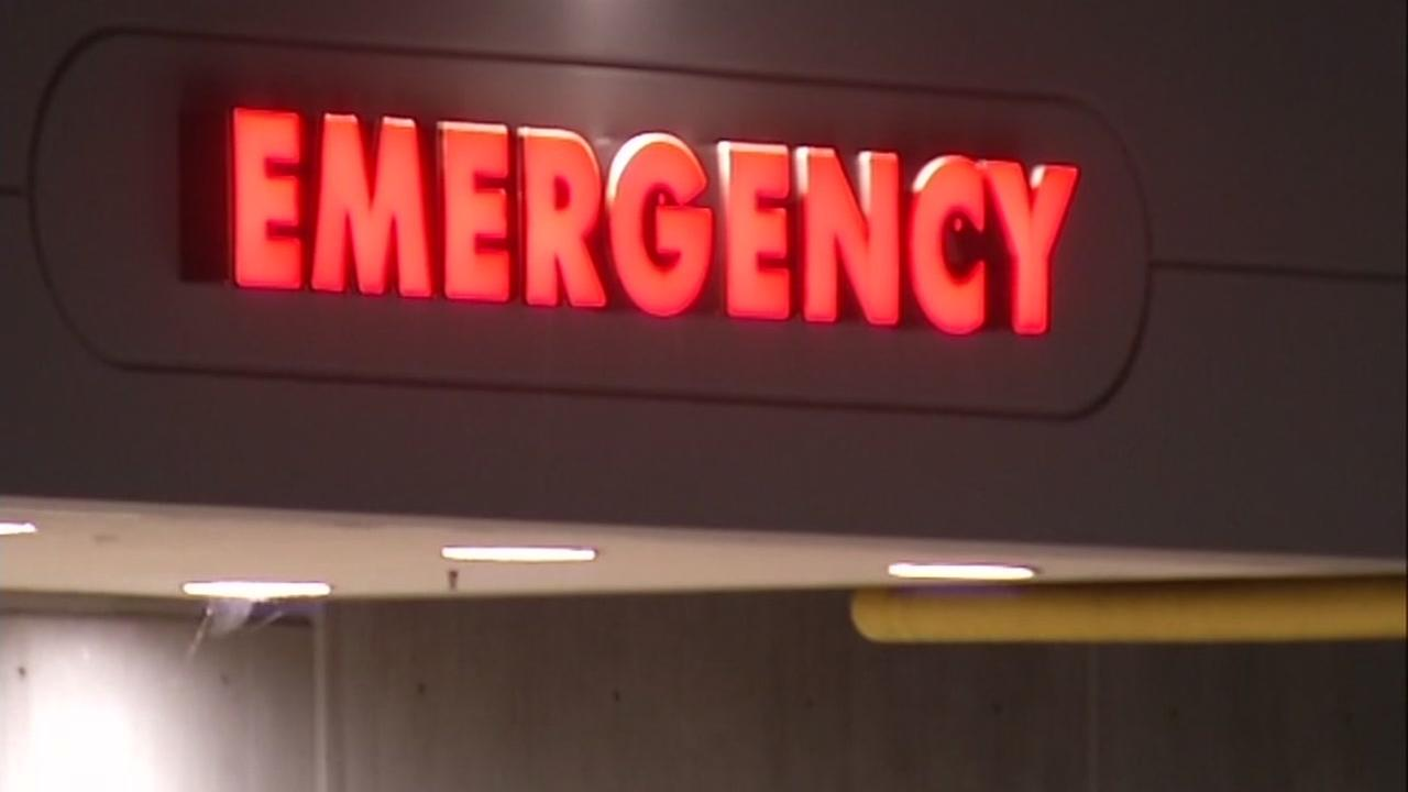 This is an undated image of an Emergency room sign.