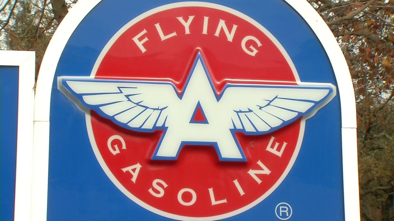 FILE -- Flying A Gas in Orinda, California.