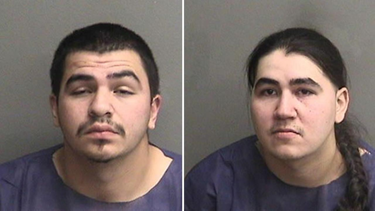 Frankie Archuleta, 22, and Jesse Archuleta, 25, are accused of killing a father of four inside Target on Saturday, Dec. 24, 2016 in Hayward, Calif.