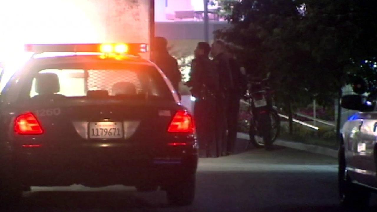 Shooting scene in San Francisco.