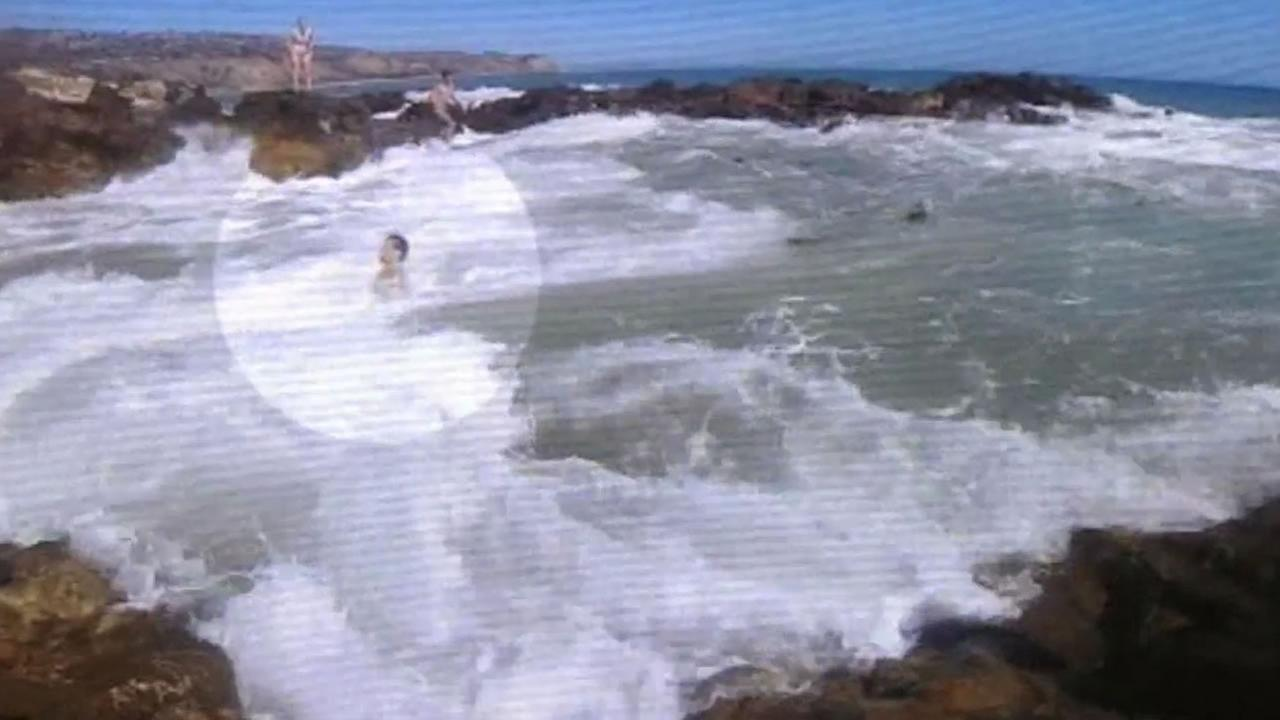 Video shows dramatic rescue of teen from rip current.